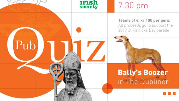 Pub quiz flyer
